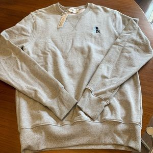 SoulCycle Men's Gray Crew Sweatshirt
